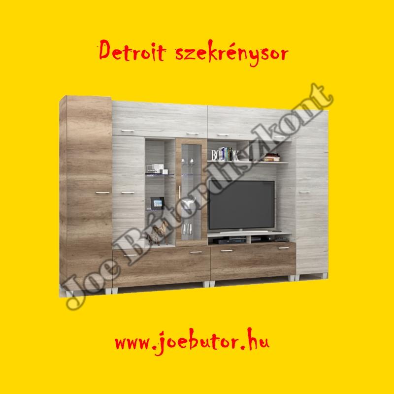 Detroit szekrénysor