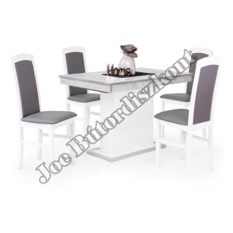 Emma 4 étkező kicsi Flóra asztallal