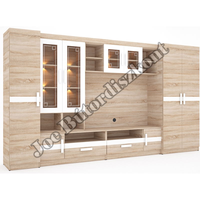 Ibiza szekrénysor 365cm