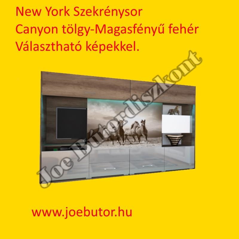 New York Szekrénysor 300cm