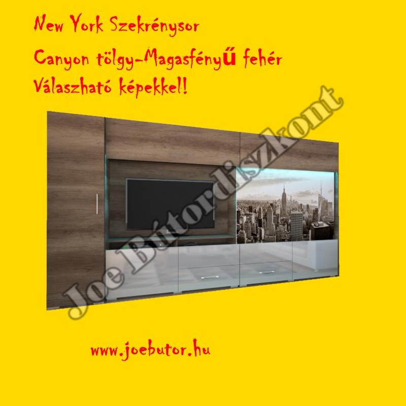 New York Szekrénysor 350cm