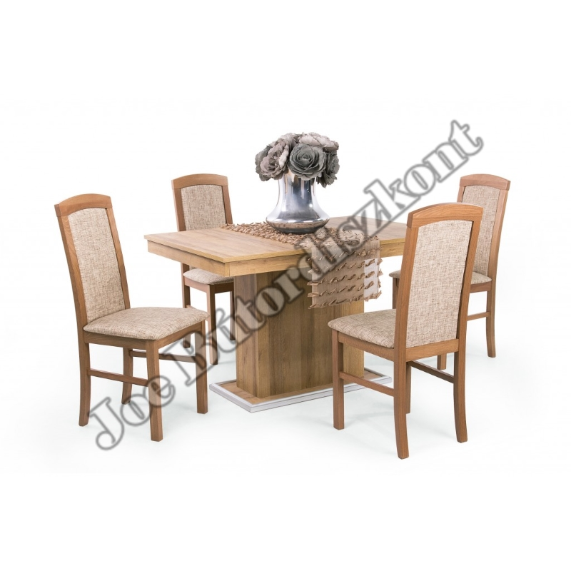 Aston 6 étkező Aurél asztallal