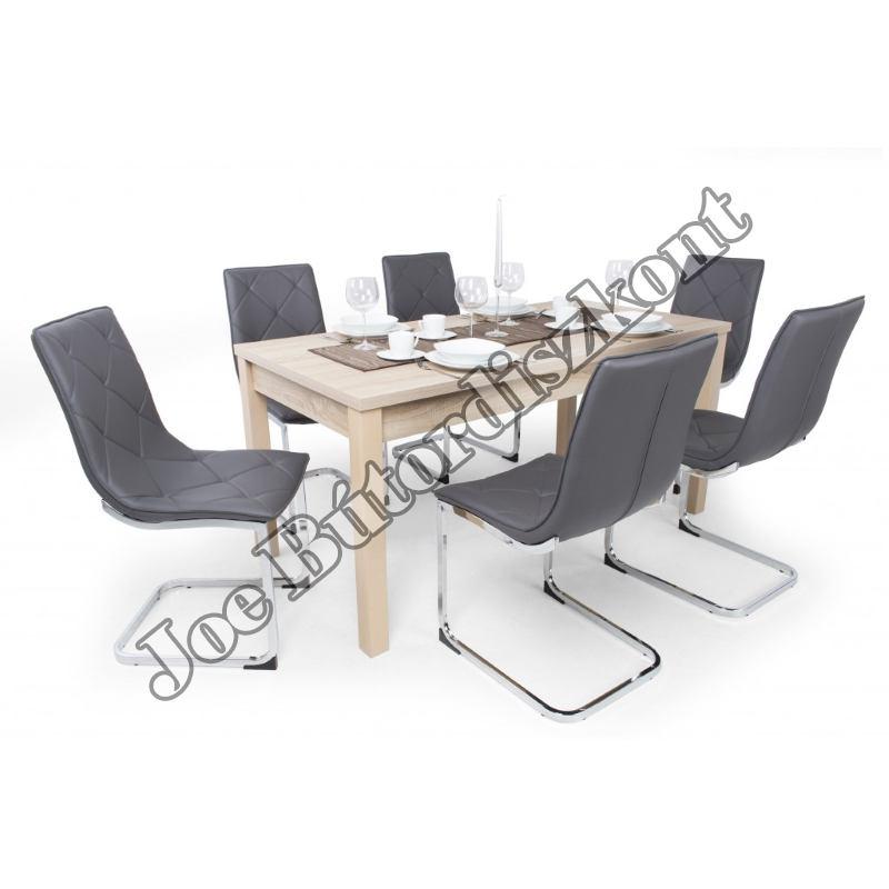 Barton 6 étkező Berta asztallal