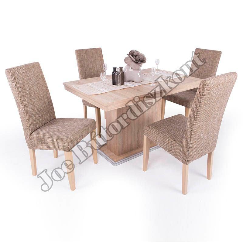 Berta 4 étkező kicsi Flóra asztallal