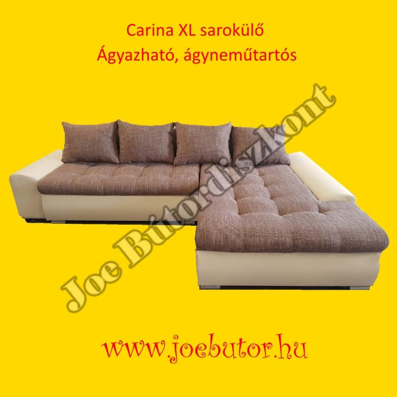 Új Carina XL sarok ülőgarnitúra