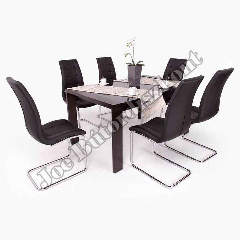 Emma 6 étkező Piero asztallal