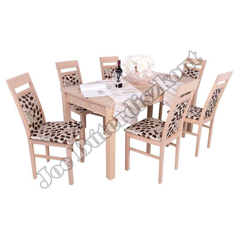 Léna 6 étkező Berta asztallal
