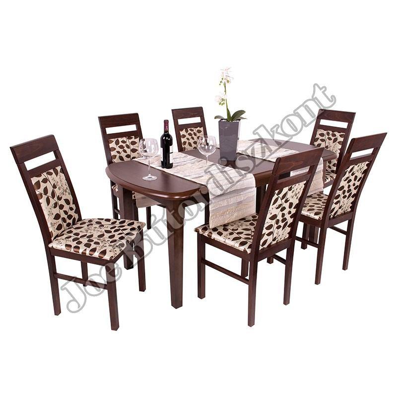 Léna 6 étkező Dante asztallal