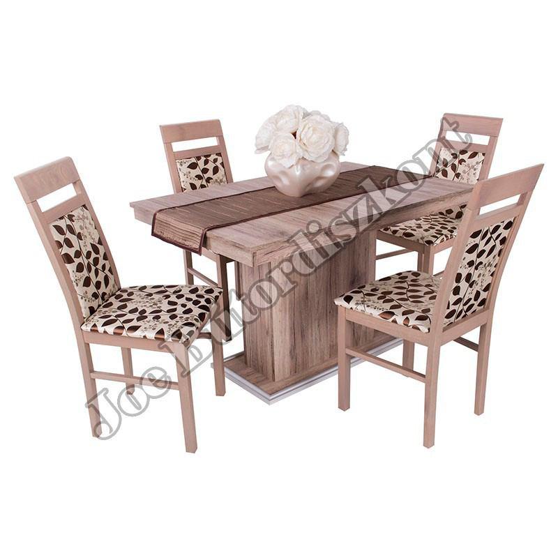 Léna 4 étkező kicsi Flóra asztallal