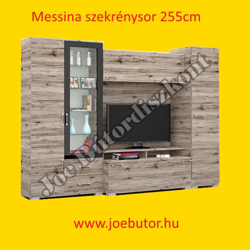 Messina szekrénysor 255cm